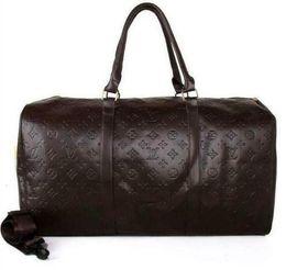 $enCountryForm.capitalKeyWord UK - men duffle bag women travel bags Polochon hand luggage luxury designer travel bag men pu leather handbags large cross body bag totes 55cm