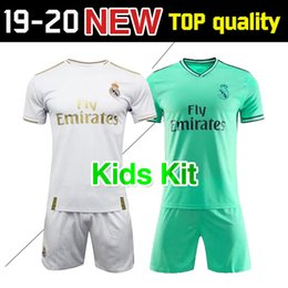 b69061bbb KIDS 2019 2020 real Madrid home soccer jerseys Kit 19 20 away 3rd modric  MODRIC ASENSIO ISCO RAMOS Marcelo BALE Football Shirt