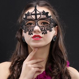 Discount dancing mask for girls - Sexy Lace Party Masks Women Ladies Girls Fashion Xmas Cosplay Mask Costume Masquerade Dancing Valentine Half Face Mask B