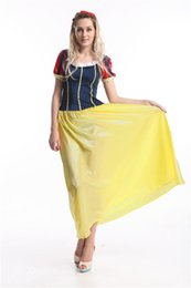 $enCountryForm.capitalKeyWord Australia - Halloween Party theme cosplay snow white costume brand new Dresses for adults Fairy tale character princess