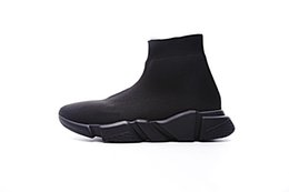 $enCountryForm.capitalKeyWord Australia - New Designer Sneakers Speed Runner Fashion Shoes Sock Triple Black Boots Red Flat Trainer Man Woman Casual Shoes Sport With Dust Bag