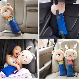 Toy covers online shopping - Cute Animal Car Seat Strap Belt Cover Doll Toy Adjustable Pillow Pad Cushion Cover For Kids Children Scooter106