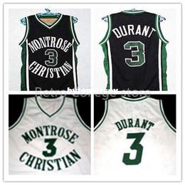 $enCountryForm.capitalKeyWord Australia - Kevin DURANT #3 Montrose High School Basketball Jersey, Men's Double Stitched Authentic White Black XS-6XL vest Jerseys NCAA