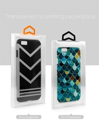 Handmade Lipstick Australia - PVC packaging case for phone iphone 6 7 8 protector cover for mobile phones packing boxes fit 4.7 5.5 inches DHL