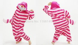 cat cosplay pyjamas UK - Kigurumi cheshire cat onesies Pajamas animal costume Pyjamas Unisex Cartoon Cosplay character pijamas ,sleepwear