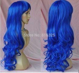 $enCountryForm.capitalKeyWord Australia - shun P&P>> pretty long dark blue hair wigs for women