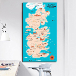 $enCountryForm.capitalKeyWord Australia - World Western Game Of Thrones Map Painting Westeros Posters And Prints Decorative Wall Art Pictures For Living Room Home Decor