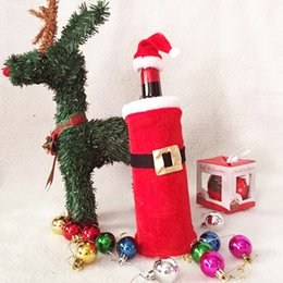 $enCountryForm.capitalKeyWord Australia - DINIWELL Christmas Decorations Santa Claus Wine Bottle Bags Xmas Home Dinner Party Table DecorsSnowman Gifts Champagne Holders