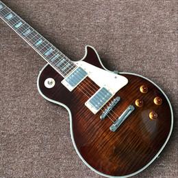 $enCountryForm.capitalKeyWord Australia - custom shop,standard Tiger Flame maple top standard custom Electric guitar,handwork gitaar,rosewood fingerboard guitarra