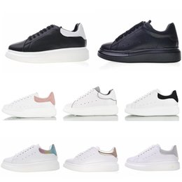 $enCountryForm.capitalKeyWord NZ - Mqueen Stan Smith Mens Womens Running Shoes Top Quality Luxury Designer Sneakers Leather Flat Casual Shoes Size 36-44