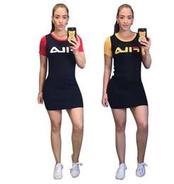 Lady S Dresses Australia - summer Women o neck short sleeve T shirt dress sexy letter print mini dress ladies casual dress S-XXXL