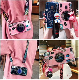 $enCountryForm.capitalKeyWord Australia - New Stylish Cell Phone Case Fashion Camera Design with Lanyard Girl Phone Cover Shell for Apple iPhone X XS XR MAX 8 7 6 Plus