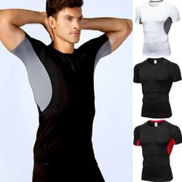 $enCountryForm.capitalKeyWord Australia - Casual Men Summer Gym Slim Fit Short Sleeve Muscle Tee Tops Bodybuilding T-shirt Pachwork Slim Tops S-2XL