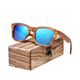 a7cdfb0b29 OculOs sOl femininO pOlarOid online shopping - BARCUR Polarized Zebra Wood  Sunglasses Male UV400 Protection Handmade
