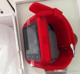 $enCountryForm.capitalKeyWord Australia - U8 Smart Watch Bluetooth Wrist Watches Altimeter Smartwatch for Apple iPhone 6 5S Samsung S4 S5 Note Android HTC phones Smartphones Free DHL