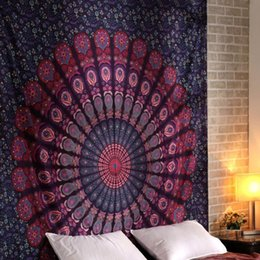 $enCountryForm.capitalKeyWord Australia - Indian Mandala Tapestry Printed Tapestry Wall Hanging Bohemia Beach Throw Mat Hippie Bedspread Yoga Mat Blanket
