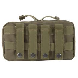 Gear Doors Australia - Outdoor 600D Nylon Traveling Gear Molle Pouch Military Bag Tactical Vest Sundries Camera Magazine Storage Bag lp0113