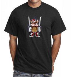 $enCountryForm.capitalKeyWord Australia - Ice Cream Ninja Funny T-Shirt Tee Top Great Birthday Gift Present Idea T-shirt Men Male Casual Custom Short Sleeve Boyfriend's 3XL Group T-s