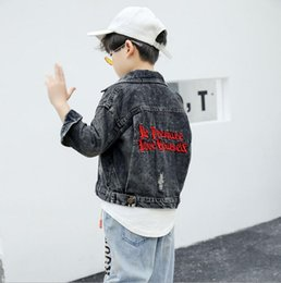 $enCountryForm.capitalKeyWord Australia - 2019 children's clothing autumn and winter new boy jacket Korean version of the original design embroidery denim shirt children's denim jack
