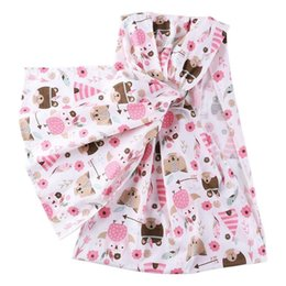 Toddler Carry Australia - Stripes Baby Doll Sling Carrier Children Front Back Pets Carriers Wrap Toddler Kids Dolls Accessories Toddler Front Back Carrie
