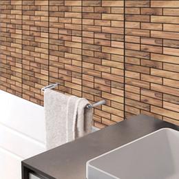 $enCountryForm.capitalKeyWord Australia - 3D Stereo Simulation Wooden Texture Wall Sticker DIY Living Room Bathroom Bedroom Kitchen Tile Decor Self-adhesive Wallpaper Poster Art