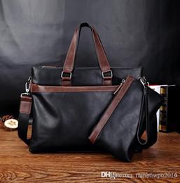 $enCountryForm.capitalKeyWord Australia - outlet brand fashion bag soft leather men's laptop Business Bag Crossbody Bag leisure color trend of large capacity leather handbags
