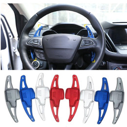 $enCountryForm.capitalKeyWord UK - For Ford Focus 2015-2018 Ford Kuga2016-2019 Aluminium Steering Wheel Shift Paddle Shifter Extension Car Gearbox sticker