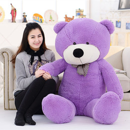 giant pink stuffed animals Australia - Kawaii 80cm Lovely Plush Stuffed Animals Soft Giant Teddy Bear Urso Pelucia Girls Toys Wedding And Birthday Party Decoration