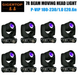 7r beam moving head NZ - 8 units 230w 7R Beam Zoom Moving head Light dmx 16 Channnels 16 Prism DMX DJ Show Party sharpy beam 230