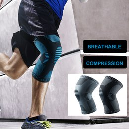 a918077e7a Basketbol Dizlik Knee Pads Protector Knitting Elastic Compression Kneepad  Patella Brace Guard Strap Knee Support for Arthritis