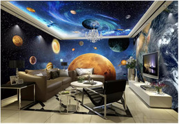 theme wallpaper NZ - 3d wallpaer custom mural photo Cosmic Galaxy Earth theme space background living room home decor 3d wall murals wallpaper for walls 3 d