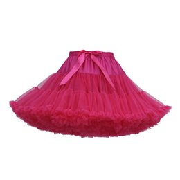 $enCountryForm.capitalKeyWord Australia - Ballet Party Dance Skirts Hot Women's Fashion Solid Color Dance Party Ballet Tutu Skirts Womens Girls Net skirt Soft