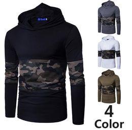$enCountryForm.capitalKeyWord Australia - New fashion brand camouflage t shirt hip hop mens designer T-shirt mens sweatshirt short-sleeved T-shirt mens designer sportswear4 color
