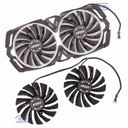 Wholesale Original for MSI GTX1080Ti Ti ARMOR Graphics card cooling fan PLD10010S12HH V A mm diameter