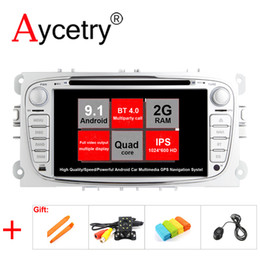 ford android stereo 2019 - Aycetry IPS For Ford Focus Mondeo Galaxy S MAX C 2 din Android 9.1 Car multimedia DVD Player GPS autoradio Radio Stereo