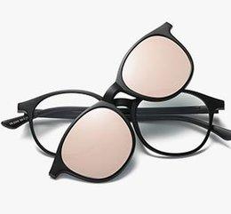Зеркало Оптовая Женщины Новые Поляризованные Солнцезащитные Очки Съемная Изменение Моды Вождения на Распродаже
