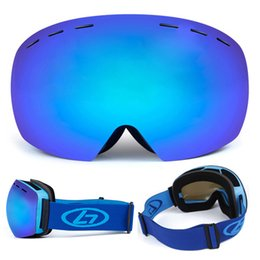 Adult Ski Goggles Australia - New Professional Anti-Fog UV Protection OTG Goggles Climbing Skiing Motorcycling Men Women Adult Eyewear Skiing Goggles