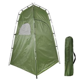 toilet room tent Canada - Privacy Shelter Tent Camping Tent Portable Outdoor Shower Toilet Changing Room for Camping Beach Toilet