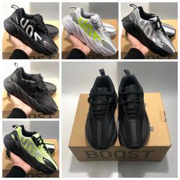 Best Summer Hiking Shoes Australia - 700 VX V2 Running Shoes Runner 2019 Kanye West Mauve Wave Men Athletic Best Quality 700s Outdoor Hiking Sports Shoes Designer Sneakers 40-45