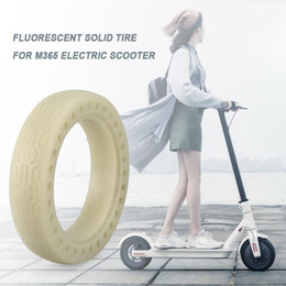$enCountryForm.capitalKeyWord Australia - Outer Tire Inflatable Tyre Luminous Solid Tire Explosion-proof Front Rear Tyre for Xiaomi M365 Electric Scooter Skateboards