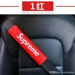 venda por atacado 2PCS New Hot Moda Car Cinto de segurança Shoulder Pad condução confortável cinto de segurança do veículo macio Plush Auto Cinto de segurança Strap Harness Tampa DXY