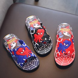 $enCountryForm.capitalKeyWord Canada - Kids Cartoon Slippers Toddler Boys Girls Family Summer Home Flip Flop Baby Bedroom Shoes Children Beach Sandals