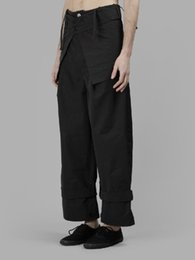 original straight hair NZ - 27-44 2017 Men's clothing Hair Stylist Catwalk Original fashion personality Straight Wide Leg Pants costume plus size costumes
