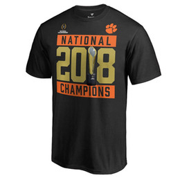 Clemson Tigers t-shirt american College Football Playoff 2018 National Champions Hard Count Schedule Shirt Cotton Bowl Champions shirt