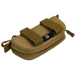 $enCountryForm.capitalKeyWord Australia - Waterproof Clutch Bag Travel Purse Zipper Carry Box Glasses Bag Outdoor Pouch Portable Lightweight Camouflage Waist Belt Pack