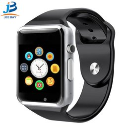 $enCountryForm.capitalKeyWord Australia - 2019 New 5 colour A1 WristWatch Bluetooth Smart Watch Sport Pedometer with SIM Camera Smartwatch For Android Smartphone
