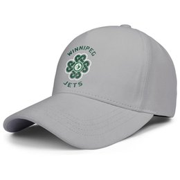 Discount jet balls Winnipeg Jets Green St. Patrick's Day mens and women adjustable trucker cap golf blank custom trendy baseballhats I