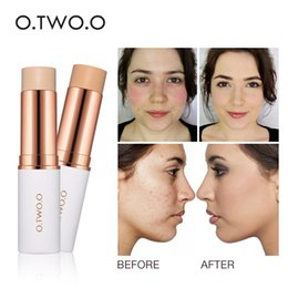 Wholesale O TWO O Magical Concealer Stick Foundation Makeup Full Cover Contour Face Concealer Cream Base Primer Moisturizer Hide Blemish