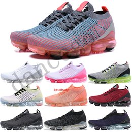 purple flash NZ - Hot Sale Knit 3.0 running shoes Womens Navy White Triple Black Sneakers Mens Flash Crimson Pink Purple Multi-Color Designer Shoes 36-45