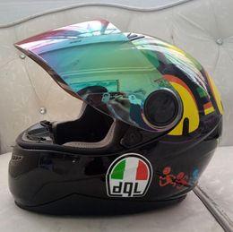 Free m helmet online shopping - Motorcycle helmet male and famale summer season personality cross country vehicle racing anti fog full face helmet